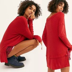 FREE PEOPLE Phoenix North Shore Slouchy Thermal